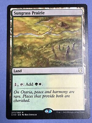 Magic: The Gathering, MTG) Magic Commander 2016-1x Sungrass Prairie