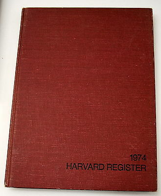 Rare Harvard Register Yearbook Featuring Walter Isaacson Ships Worldwide