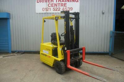 Hyster 1.5 Ton  Electric Forklift Truck