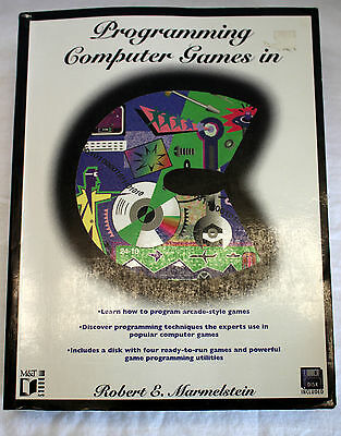 Programming Computer Games in C w/ GAME DISK - Robert E. Marmelstein 1994