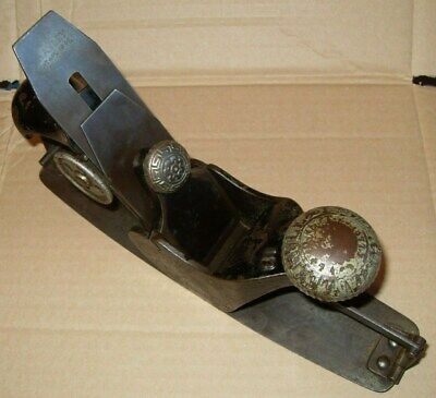Stanley Rule & Level Co. No.113 Early Type Compass Plane - Pat. June 17 . 79