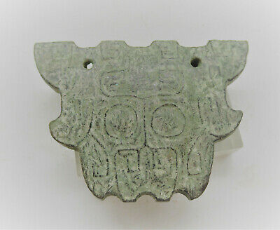 Ancient Chinese Stone Amulet With Inscriptions Needs Further Research