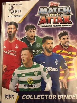 Match Attax Scottish Premier League SPFL 2018/19 - Choose any 10 Base Cards