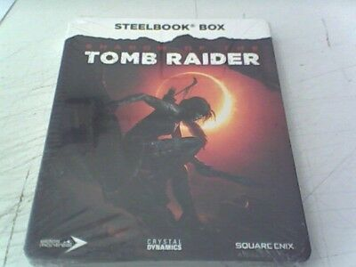 Shadow Of The Tomb Raider Steelbook- New and and Sealed