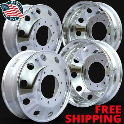 "4) 763297 19.5 X 6 Ford F450/550 10 Lug Alcoa Wheels ""New"" Wheel"