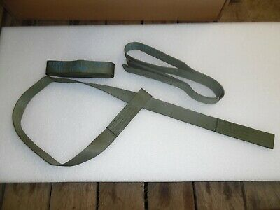"10 - 1.75""X60"" Daak Military Flat Loop Webbing Strap Sling For Towing & Lifting"
