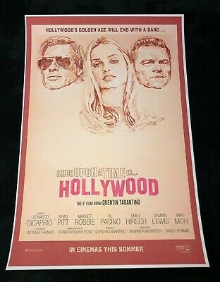 ONCE UPON A TIME IN HOLLYWOOD 12x18 FAKE MOVIE POSTER RICK DALTON DICAPRIO 11
