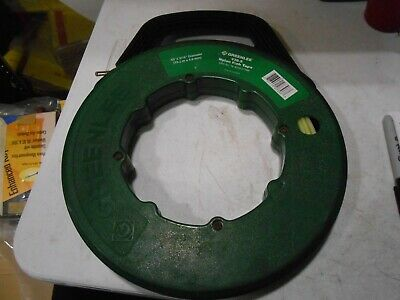 "Greenlee 436-5 Nylon Fish Tape 3/16"" Diameter 50Ft"