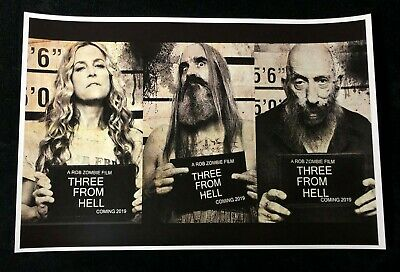 3 FROM HELL 12x18 MOVIE POSTER ROB ZOMBIE THE DEVILS REJECTS SHERI MOON ZOMBIE 4