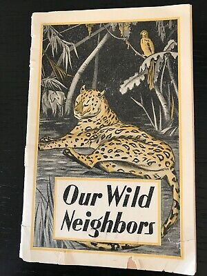 "Early 1900s '""Our Wild Neighbors"" Pamphlet Lydia Pinkham Quack Medicine Remedy"