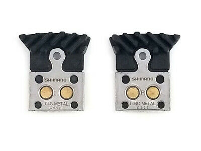 BR Shimano L02A Resin Disc Brake Pads with Fin for Flat Mount BR-RS805 RS505 Road Disc Calipers Y8N398030