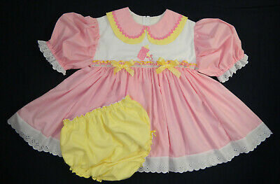 Adult Baby Sissy Littles ABDL NEW SUGAR & SPICE DRESS SET PUL LINED DIAPER COVER