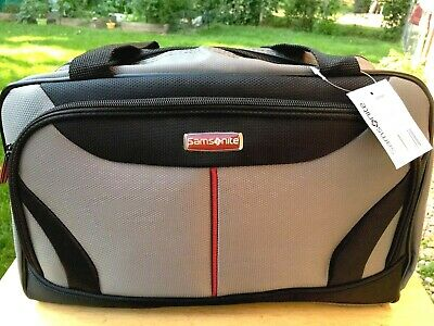 New SAMSONITE Uintah Carry On Weekend Under Seat Overnight Gray Bag Luggage