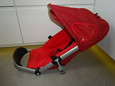 QUINNY BUZZ SEAT UNIT 1st stage Cover and Hood in Red