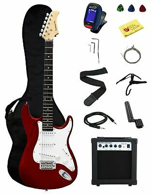 Stedman Pro Ymc Full Size Electric Guitar With Amp, Case And Accessories Pack...
