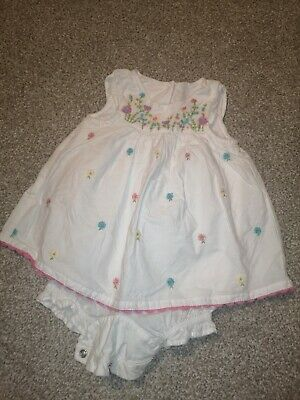 Baby Girls Cotton Summer Outfit First Size