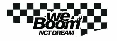 Nct Dream We Boom Pop-Up Store Official Goods Coaster Sealed