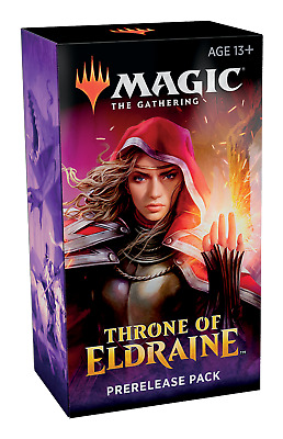 MTG THRONE of ELDRAINE Prerelease Kit (booster packs + extras) Sealed PreSale