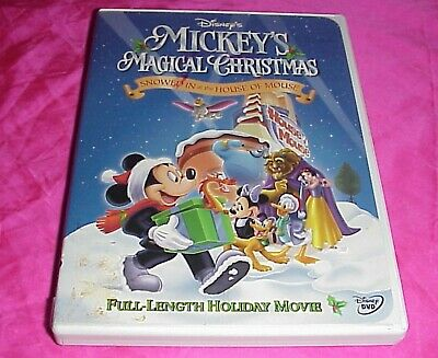 Mickeys Magical Christmas Snowed In At The House Of Mouse.Disney Mickey S Magical Christmas Snowed In At The House Of Mouse Kids Dvd