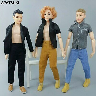 1/6 Boy Doll Clothes Hip Hop Handmade Pants For Ken Doll Trousers Casual Wear