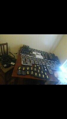 INTERMEC RF Scanner 16 each, all batteries, charger, cords, and cases ALL INCLUD