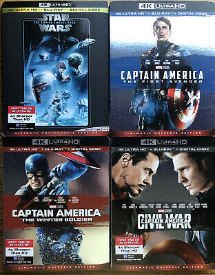 Bluray & 4K slipcover sale - no movies included Disney Marvel & Hot releases etc