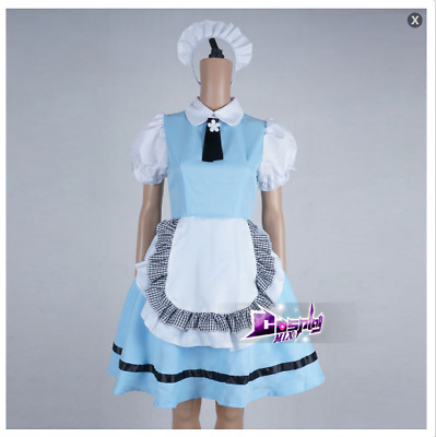 US SHIP Lady Clothing For Anime Fashion Cosplay Costume Dress
