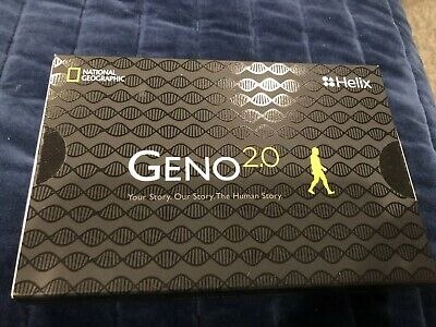 New National Geographic Helix Geno 2.0 DNA Kit, Sealed