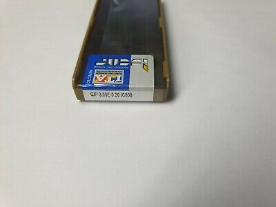 ISCAR GIP 5.00E-0.40 IC830 carbide inserts 10pcs NEW FACTORY PACK