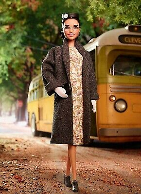 Rosa Parks Barbie Doll Inspiring Women Collection 2019 CONFIRMED PREORDER