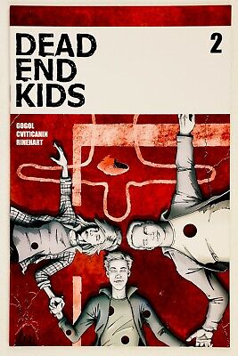 Dead End Kids #2 (2019 Source Point Press) Frank Gogol First Printing Hot NM/NM+