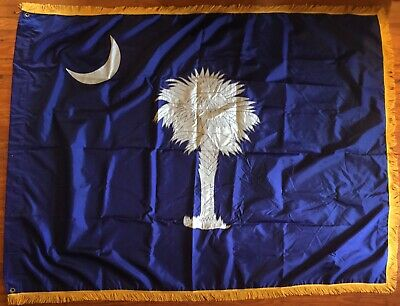 VIETNAM * 118th INF REGT SC NTL GRD * South Carolina State Colors * BATTLE FLAG