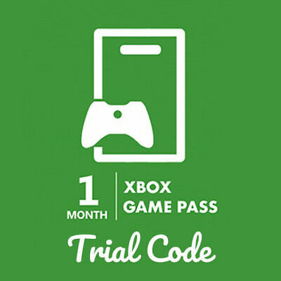 Xbox One Game Pass 1 Month Trial Code Worldwide (Only New Xbox Accounts)
