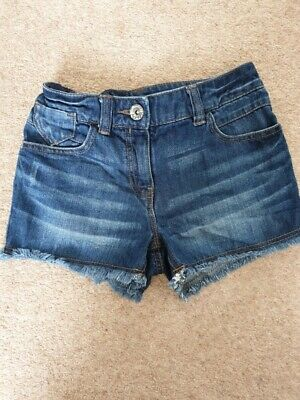 next girls demin shorts 7 years