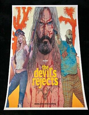 THE DEVILS REJECTS 12x18 MOVIE POSTER ROB ZOMBIE 3 FROM HELL SHERI MOON ZOMBIE 6