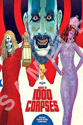 HOUSE OF 1000 CORPSES 12x18 MOVIE POSTER ROB ZOMBIE 3 FROM HELL SHERI MOON 7