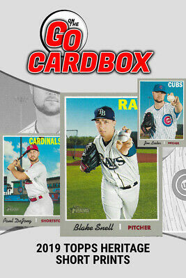 2019 Topps Heritage Short Print CardBox | Discounted Singles Inc High Number SPs