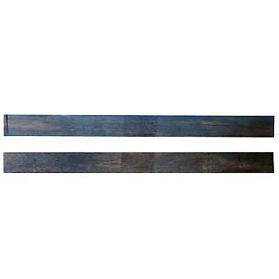 Turners' Mill African Ebony Turning Spindles - 300x25x25mm, Pack of 2