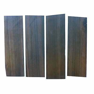 Turners' Mill African Ebony Constructional Veneers - 210x70x5mm, Pack of 4