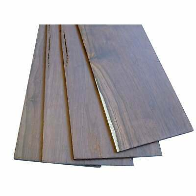 Turners' Mill Madagascan Rosewood Constructional Veneers - 380x90x3mm, Pack of 4