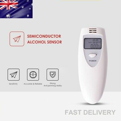 New Portable MINI Digital LCD Alcohol Breath Tester Analyzer Breathalyzer AUS