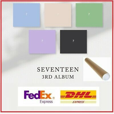 SEVENTEEN 3RD Album Full Package 5 Version Set CD+Photocard+Goods+Poster+EXPRESS