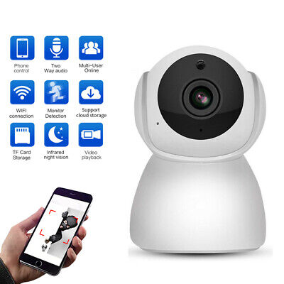 Wireless HD 1080P Camera WiFi Security Surveillance IR Webcam Night Vision