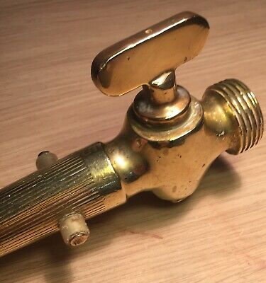 Vintage Decorative Brass Tap / Sprinkler Attachment | Hose Nozzle