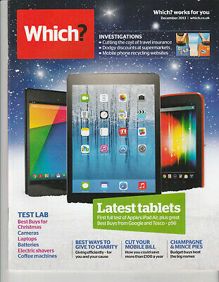 WHICH? Magazine December 2013 - Latest Tablets
