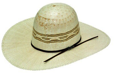 Twister Western Cowboy Hat Boys Open Crown Bangora Natural T71320