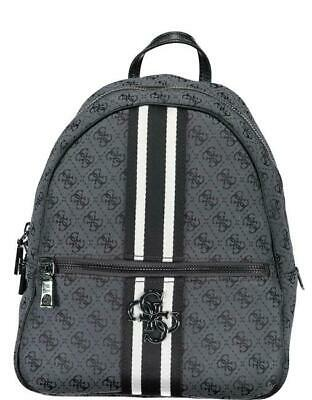 ZAINO DONNA GUESS guess vintage large backpack COAL