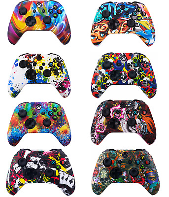 Xbox One Silicone Controller Skin Cover Pattern Case Grips for S, X, Elite
