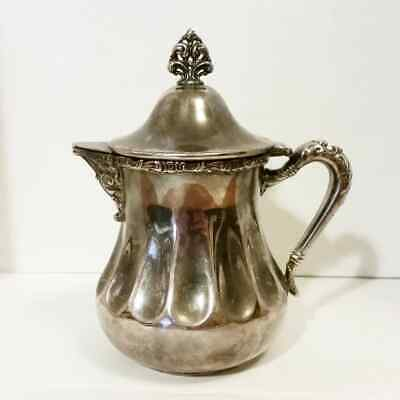 Vintage Silverplate Creamer 589 New Amsterdam Silver Co. Quadruple Plated Nice!