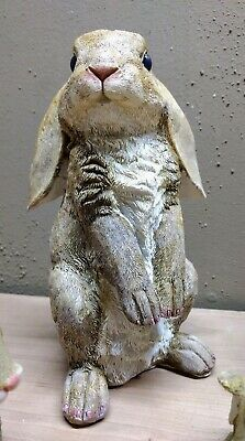 Curious Rabbit Latex Mold For Concrete, Cement And Plaster.